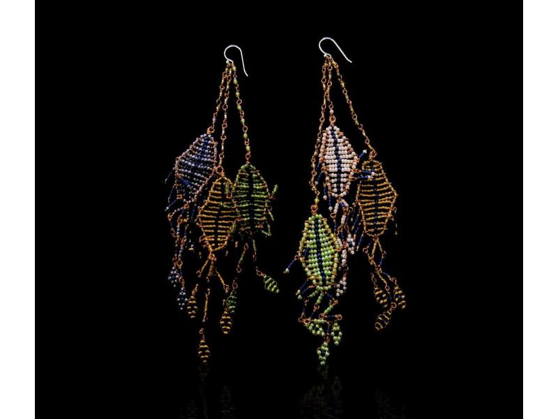 FALLAHI MOTIF EARRINGS