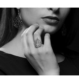ARABSQUE SILVER RING