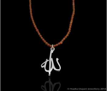 AGATE NECKLACE WITH ALLAH