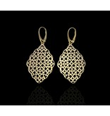 GEOMETRIC GP EARRINGS WITH FRENCH HOOK