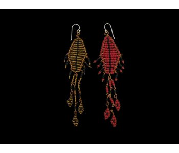 SINGLE FALLAHI MOTIF EARRINGS