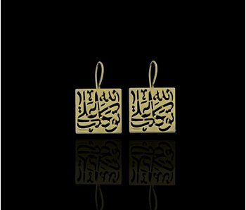 TAWAKALT SILVER GP EARRINGS