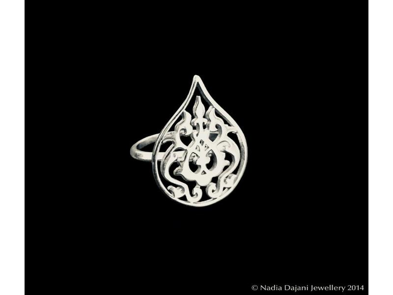 ARABESQUE SILVER RING