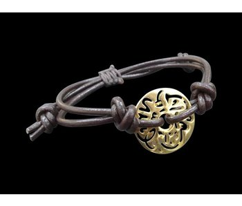 LEATHER BRACELET MASHA ALLAH GP DISC