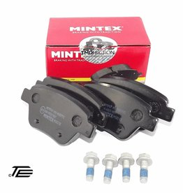 Mintex Bremsbeläge hinten VW Touran 1T1, 1T2, 1T3