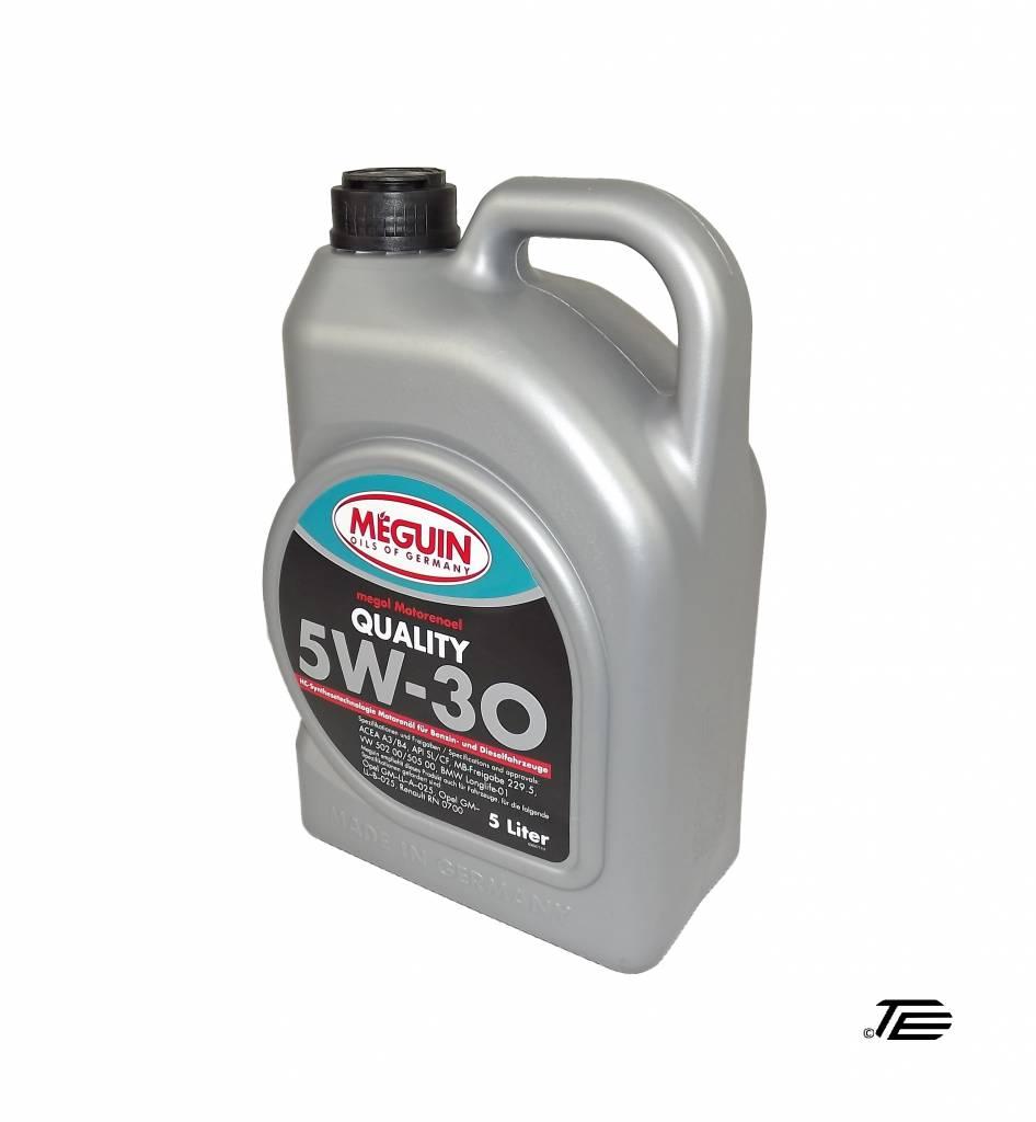 Fabulous Meguin Quality SAE 5W-30 5 Liter Kanister - TE Autoteile ZR89