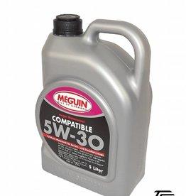 Meguin Compatible SAE 5W-30 5 Liter Kanister