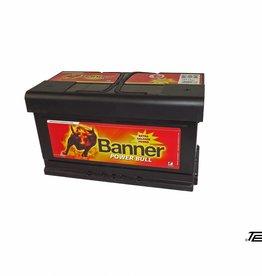 Banner Starterbatterie Power Bull 80Ah