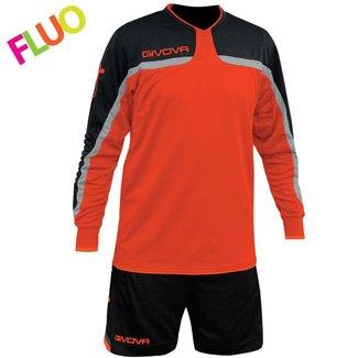 Givova Keeperset Trafford Fluo Oranje maat 2XL