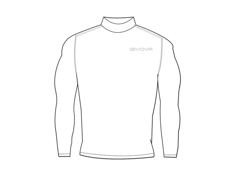 Givova Corpus 3 Underwear lange mouw-hoge kraag / S-2XL
