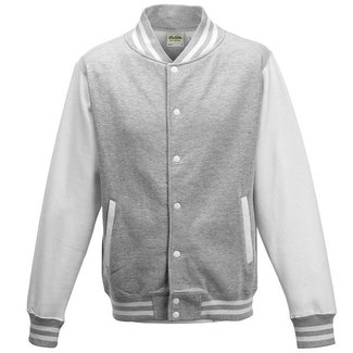 Personal College vest / jacket HEATHER GREY-WHITE Uni Adults