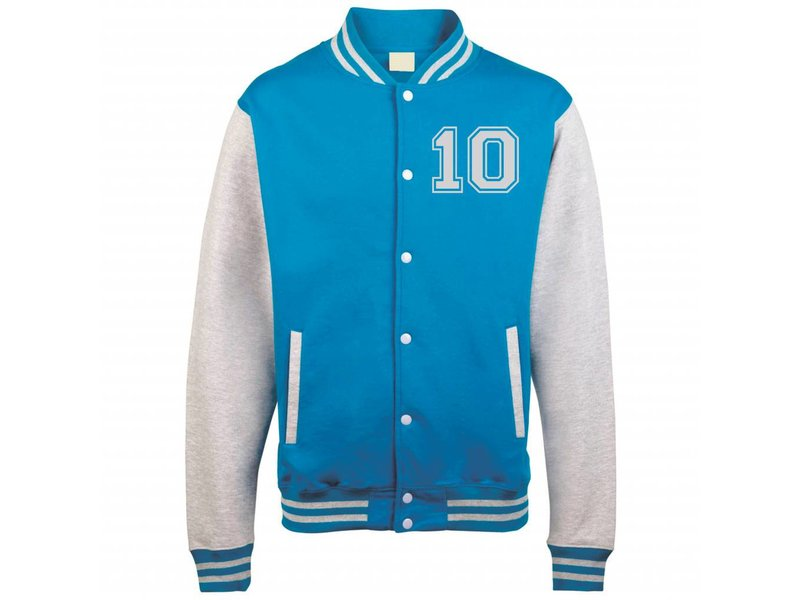 Personal College vest / jacket ROYALBLUE-WHITE Uni Adults