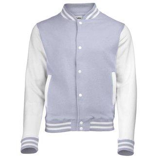 Personal College vest / jacket HEATHER GREY-WHITE kids