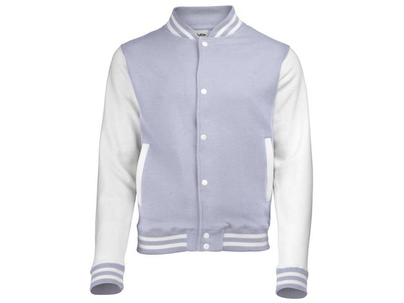Personal College vest / jacket HEATHER GREY-WHITE kids