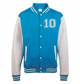 Personal College vest / jacket HOTPINK-WHITE kids