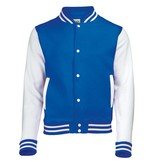 Personal College vest / jacket ROYALBLUE-WHITE kids
