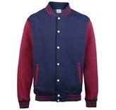 Personal College vest / jacket NAVY-BURGUNDY kids