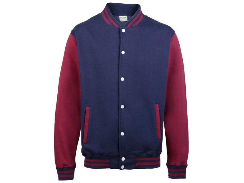 Personal College vest / jacket NAVY-BURGUNDY kids