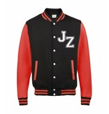Personal College vest / jacket BLACK-FIRE RED Adults