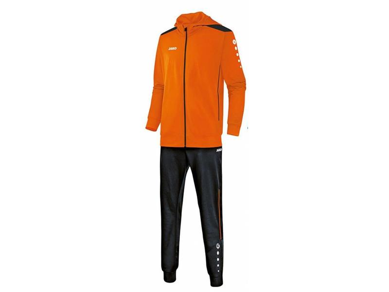 JAKO Trainingspak met zipped hoodie kleur oranje maat 128