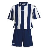 Jemsz Set Stripes wit royalblue maat XL