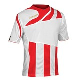 ACERBIS  SALE Mira shirt korte mouw wit-rood maat M