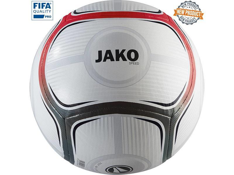 JAKO Wedstrijdbal Speed Wit-rood-antraciet maat 5