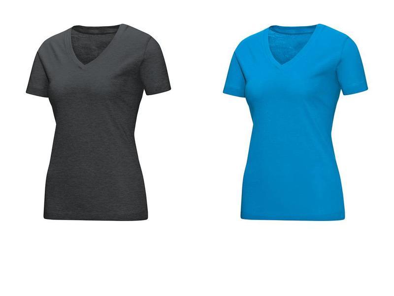 JAKO T-Shirt V hals Dames