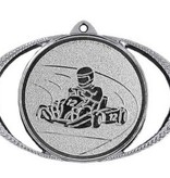 M 75-50 Medailleincl. afbeelding, lint en graveren