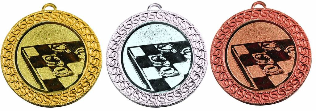 M 99-50 Medaille incl. afbeelding, lint en graveren Staffel korting bij grote aantallen. zie onderaan pagina bij Informatie
