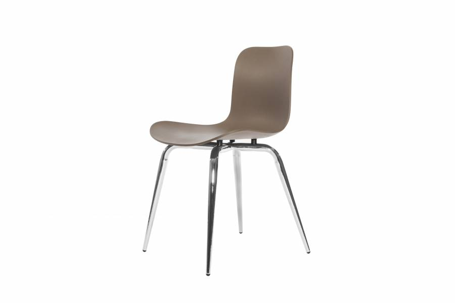 NORR11 Langue Avantgarde Dining Chair, Chrome