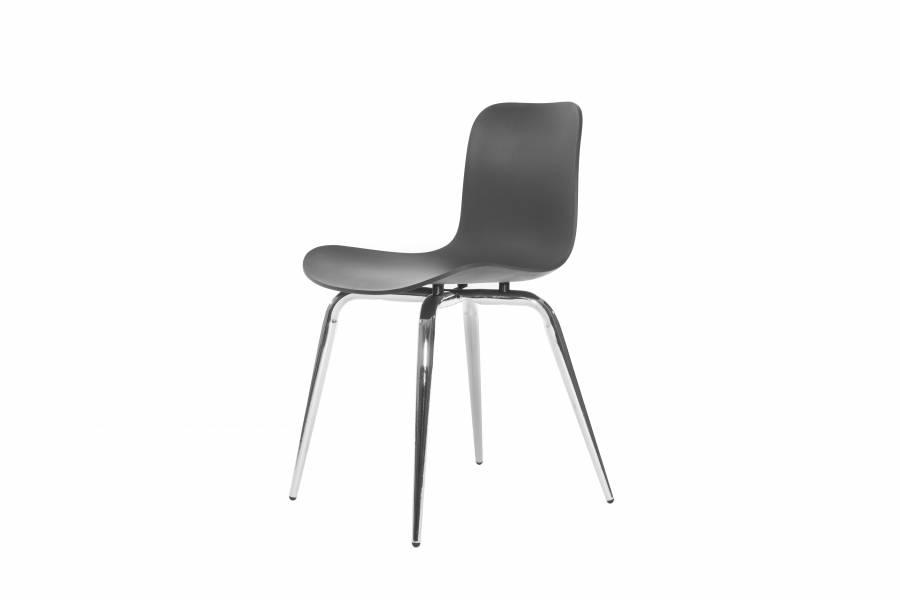 NORR11 Langue Avantgarde Dining Chair, Chrome