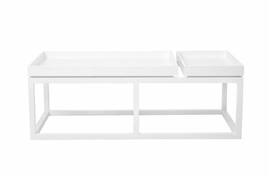NORR11 Coffee Table Tray, White