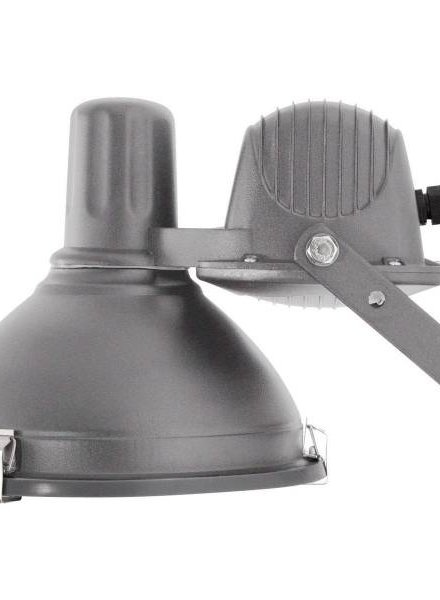NORR11 Industrial Wall Lamp, Grey/Small