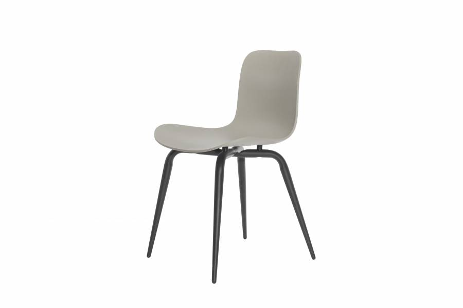 NORR11 Langue Avantgarde Dining Chair, Black