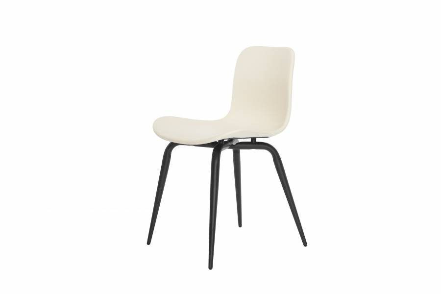 NORR11 Langue Avantgarde Dining Chair, Black - Leather