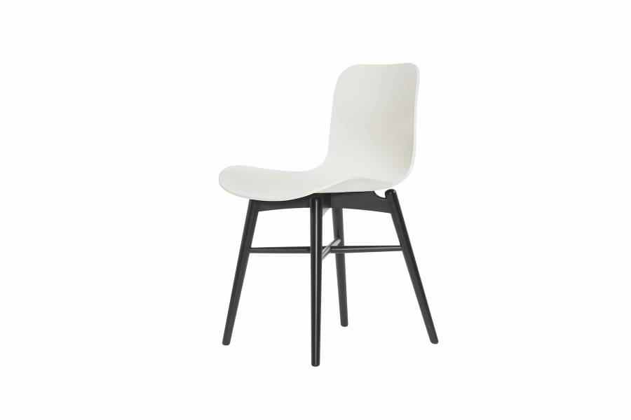 NORR11 Langue Original Dining Chair, Black