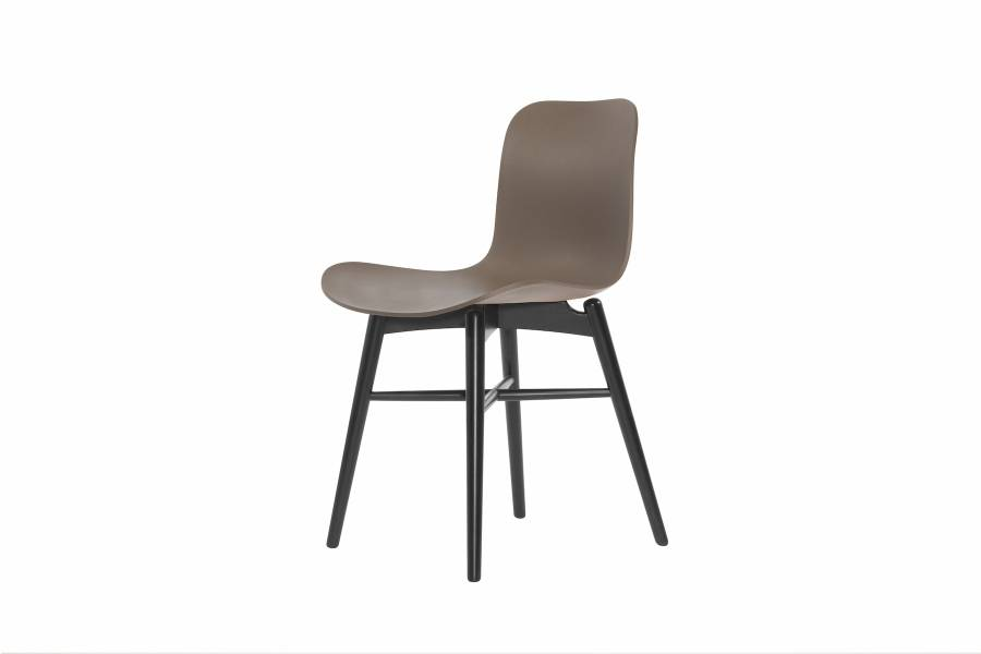NORR11 Langue Original Dining Chair, Black