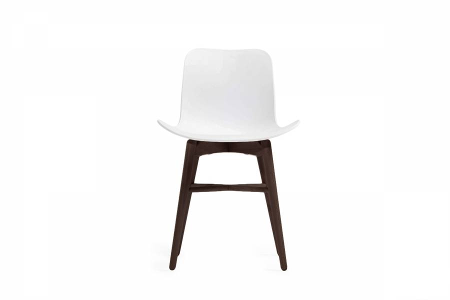 NORR11 Langue Original Dining Chair, Dark Stained