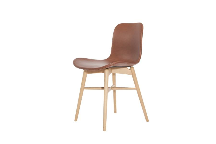 NORR11 Langue Original Dining Chair, Natural - Leather