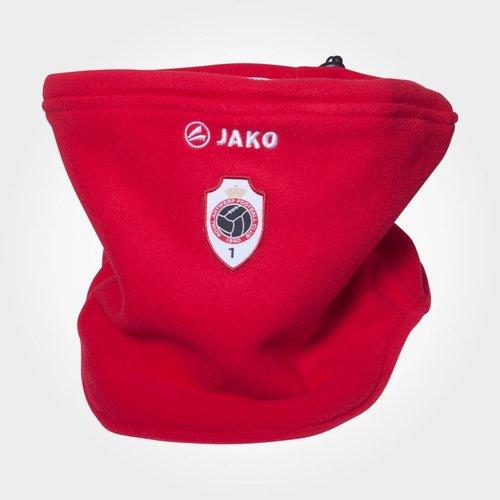 JAKO Antwerp Fleece Neckwarmer - Rood