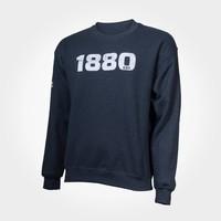 "Sweater ""1880"" grijs"