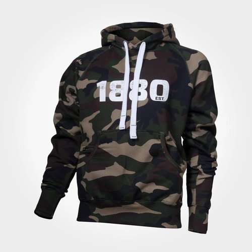 "Official Antwerp Official Hoodie Sweater - ""1880"" - Camouflage Groen"