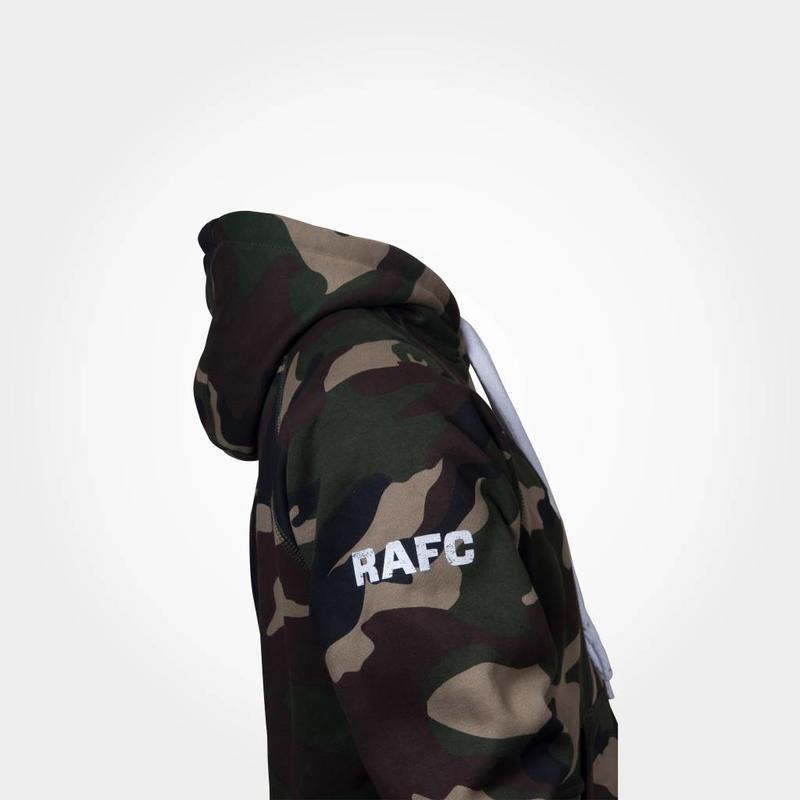 """Antwerp Official Hoodie Sweater - """"1880"""" - Camouflage Groen"""