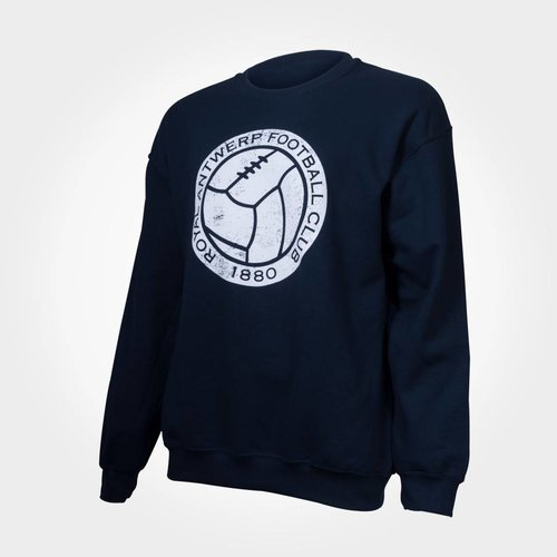 "Official Antwerp Official Sweater - ""Vintage Ball"" - Navy"