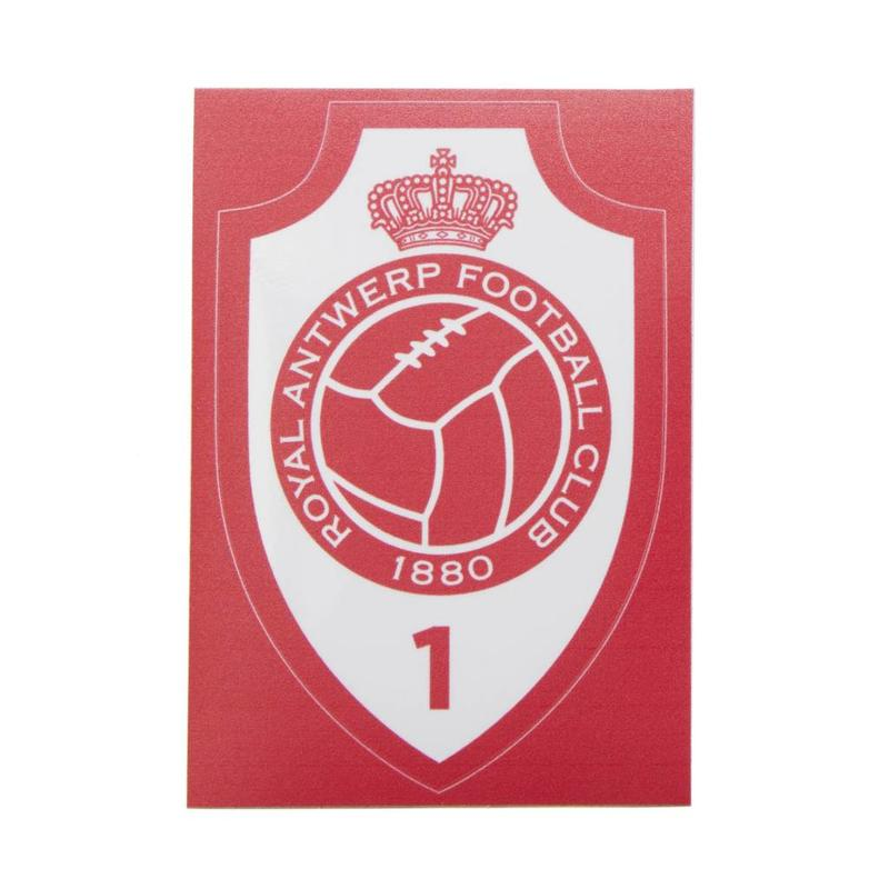 "Antwerp Official Transparante Sticker - ""Embleem"""
