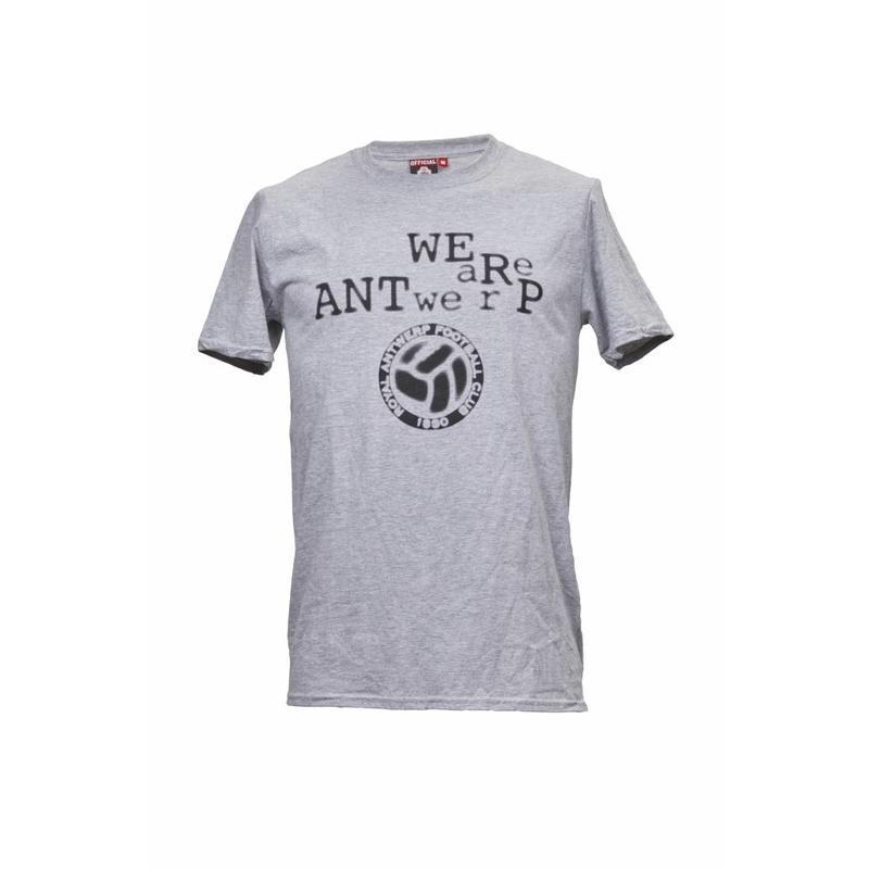 """Antwerp Official T-shirt - """"Type"""""""