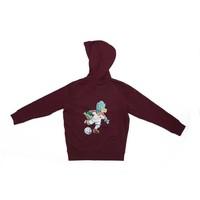 "Antwerp Jako Hoodie Sweater - ""Dino"" - Bordeaux - Kids"