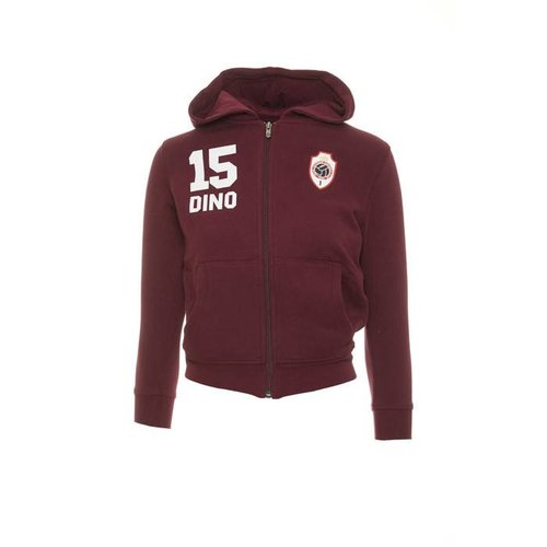 "JAKO Antwerp Hoodie Sweater - ""Dino"" - Bordeaux - Kids"