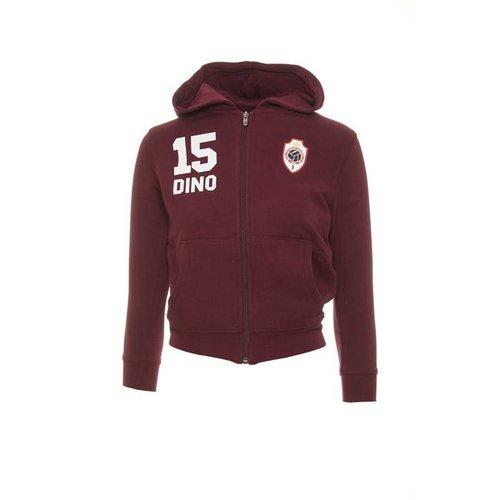 """JAKO Antwerp Jako Hoodie Sweater - """"Dino"""" - Bordeaux - Kids"""